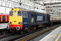 20308 leading 1Z25 1447 Waterloo - Hampton Court Charter at Waterloo on Saturday 7 February 2015