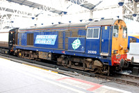 20309 on rear 1Z25 1447 Waterloo - Hampton Court Charter at Waterloo on Saturday 7 February 2015
