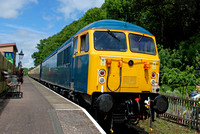 56006 on rear 1155 Bishops Lydeard - Minehead at Stogumber on Friday 5 June 2015