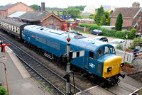 45060 1555 Bishops Lydeard - Minehead at Bishops Lydeard on Saturday 6 June 2015