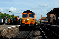 59003 1755 Bishops Lydeard - Minehead at Bishops Lydeard on Saturday 6 June 2015