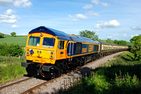 59003 1755 Bishops Lydeard - Minehead at Churchlands Bridge on Saturday 6 June 2015
