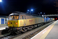 47739 on rear 3S31 2126 Kings Norton to Worcester Shrub Hill at Ledbury on Friday 23 October 2015