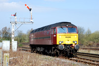 57601 at Hellifield on Saturday 17 April 2010
