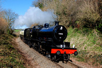 West Somerset Railway Spring Steam Gala 2016