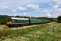 Spa Valley Railway Summer Diesel Gala - 5 August 2016