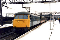 85006 1S39 0834 Poole - Glasgow Central at Stafford on Saturday 10 January 1987
