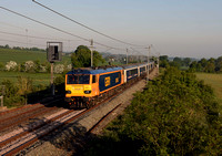 92043 1M16 2045 Inverness - Euston at Blisworth on Saturday 19 May 2018