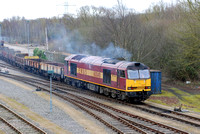 60049 shunting at Hinksey on Thursday 7 February 2013