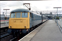85021 1M09 0748 Plymouth - Liverpool Lime Street at Stafford on 20 August 1988
