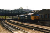 50005 1E56 1015 Paignton - Newcastle at Bristol Temple Meads on Saturday 14 June 1986