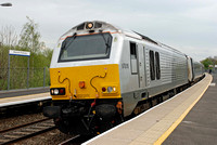 67010 1R27 1115 Marylebone - Birmingham Moor Street at Warwick Parkway on Wednesday 23 April 2014