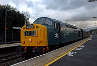 D345 leading 1Z50 1655 Stratford - Castleton Charter at Warwick Parkway on Saturday 1 October 2016