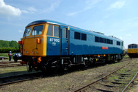 87002 at Long Narston on Sunday 8 June 2008