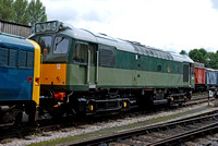 D7612 at Buckfastleigh on Saturday 30 August 2014