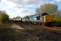 37069/37716 5Z74 1500 Crewe - Eastleigh at Wormleighton Crossing, Fenny Compton on Sunday 2 April 2017