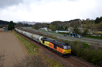 60002 6B31 1018 Inverness - Oxwellmains at Ballinluig on Saturday 15 April 2017