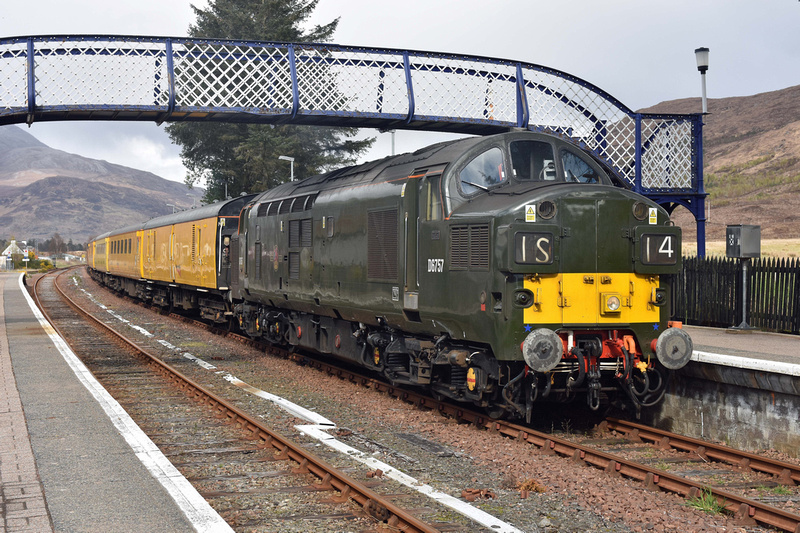 37057 leading 1Q78 1312 Inverness - Inverness at Strathcarron on Sunday 16 April 2017