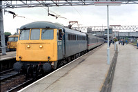 85010 1M28 1017 Penzance - Manchester Piccadilly at Stafford on Saturday 13 August 1988