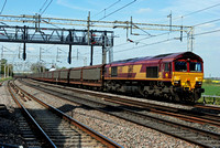 66110 6O42 1131 Halewood - Southampton at Grendon on Thursday 5 May 2016